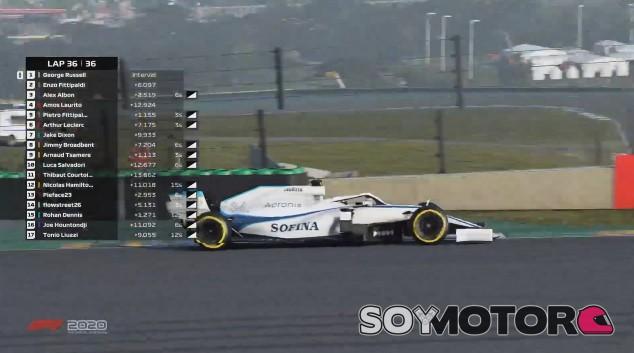 Russell arrasa en el GP de São Paulo Virtual - SoyMotor.com