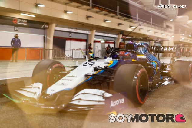 Russell, en los test de pretemporada de Baréin - SoyMotor.com
