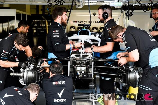 El coche de George Russell en los entrenamientos del GP de Gran Bretaña F1 2019 - SoyMotor