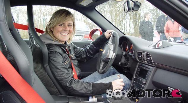 Sabine Schmitz Top Gear WTCC Nurburgring