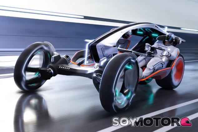 SAIC R RYZR: coches y motos, unidos en la movilidad del futuro - SoyMotor.com