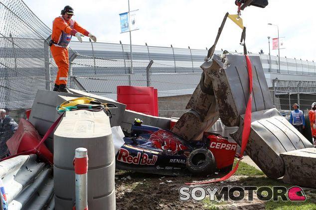 Accidente de Carlos Sainz en Rusia 2015 - SoyMotor