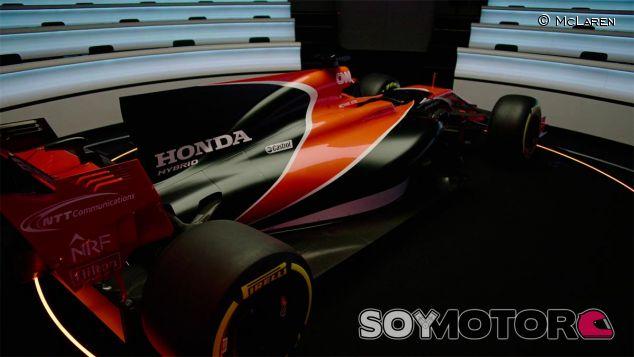 Detalle del McLaren MCL32 en su presentación - SoyMotor