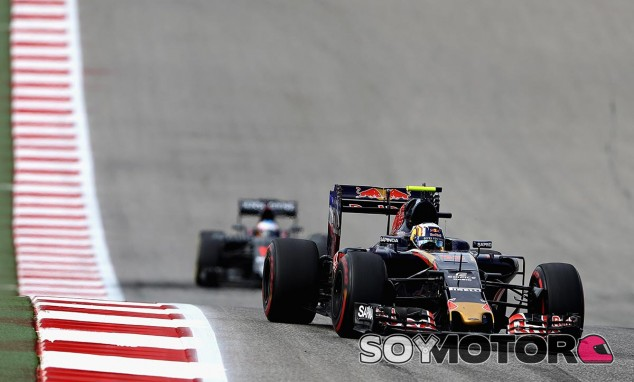 Carlos Sainz y Fernando Alonso en Austin - LaF1