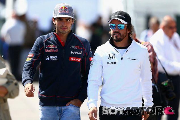 Sainz sueña con llegar a tener los éxitos de su ídolo, amigo y referente Alonso - LaF1
