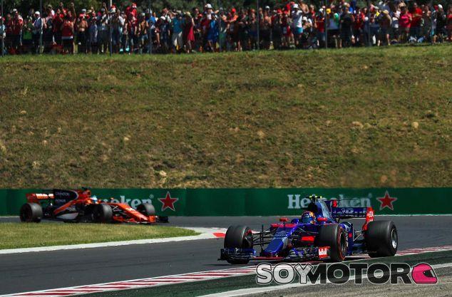 Toro Rosso en el GP de Hungría F1 2017: Domingo - SoyMotor.com