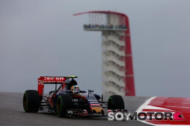 Sainz apenas dio tres vueltas el viernes en Austin, pero terminó con buenas sensaciones - LaF1