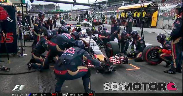Sainz pierde tiempo en boxes; Massa le supera en segundo plano - LaF1