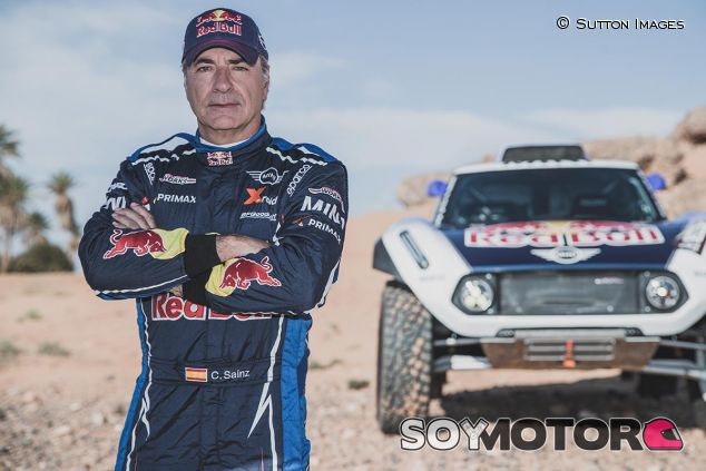 Carlos Sainz, piloto de Mini en el Dakar 2019 - SoyMotor