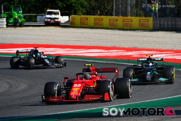 """Sainz, sexto: """"Veíamos el podio cerca, pero no teníamos capacidad para atacar"""" - SoyMotor.com"""