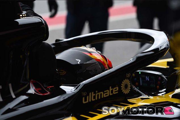 Carlos Sainz en Barcelona - SoyMotor.com