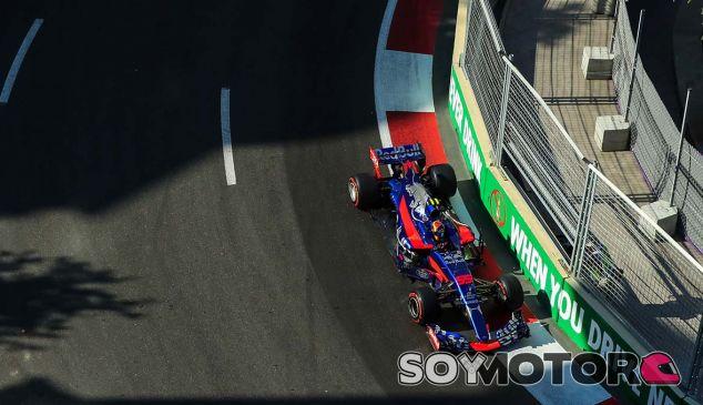 Toro Rosso en el GP de Azerbaiyán F1 2017: Sábado - SoyMotor.com