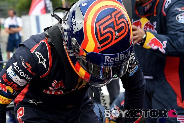 Carlos Sainz en el GP de Hungría - SoyMotor