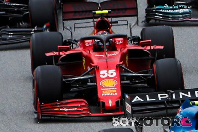 """Sainz, séptimo: """"Fuimos los primeros en ver que era a dos paradas"""" - SoyMotor.com"""