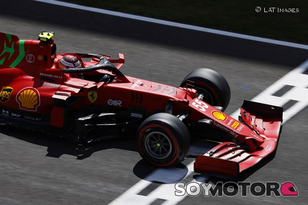 Y Sainz domó al 'Cavallino'... - SoyMotor.com
