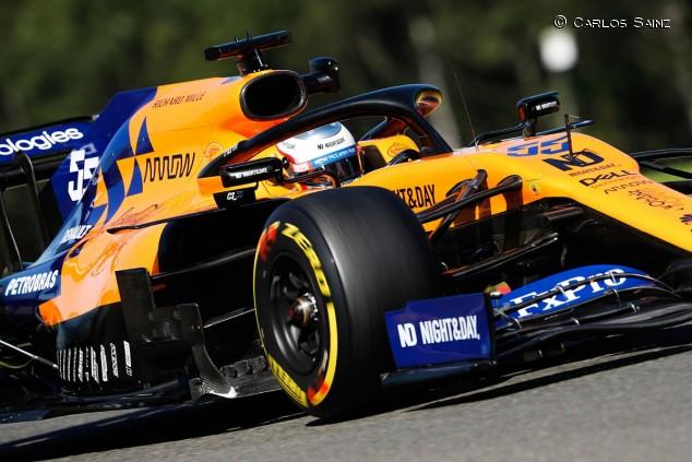 Carlos Sainz en el GP de Bélgica F1 2019 - SoyMotor