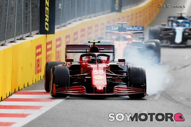 """Sainz, octavo en Bakú: """"El error en la Curva 8 me ha costado la carrera"""" - SoyMotor.com"""