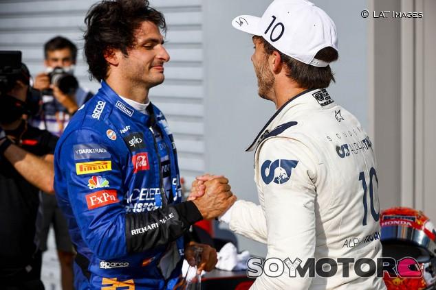Sainz roza una victoria que cae del lado de Gasly en el GP de Italia - SoyMotor.com