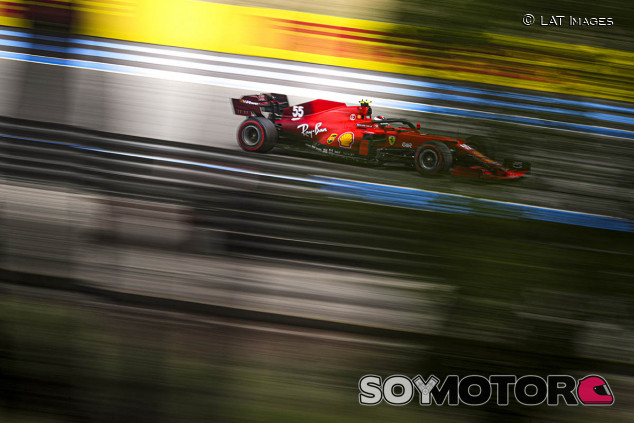 Sainz, 'mejor del resto' y líder de Ferrari en Francia - SoyMotor.com
