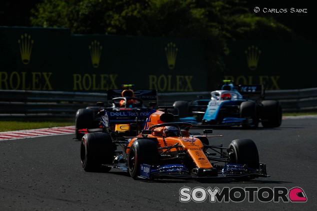 """El objetivo de Sainz y McLaren: """"Aprender sobre el MCL34 para 2020"""" - SoyMotor.com"""