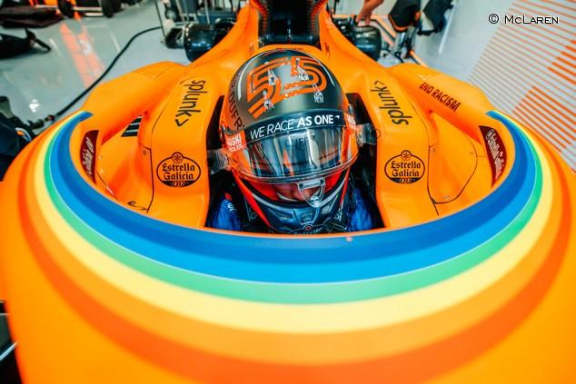 McLaren prepara mejoras aerodinámicas para Silverstone - SoyMotor.com