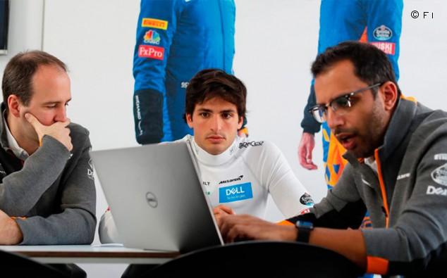 Sainz quiere salir más ingeniero del confinamiento - SoyMotor.com