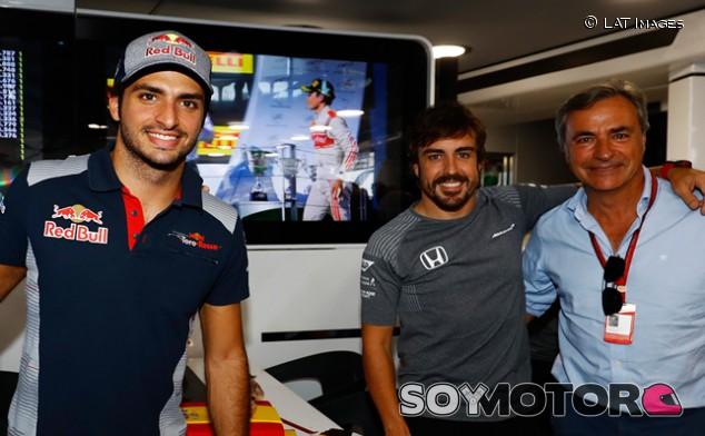 "Sainz: ""Mi ídolo es mi padre; mi piloto favorito del pasado, Alonso"" - SoyMotor.com"
