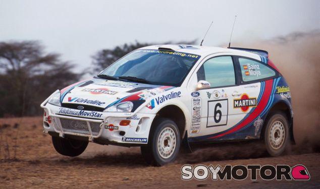 Sainz-Moya en el Rally Safari 2000 - SoyMotor.com