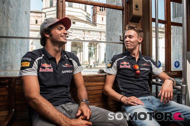 Carlos Sainz y Daniel Kvyat hacen turismo antes de Monza - LaF1