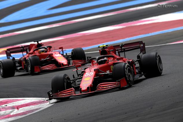 """Sainz, fuera de los puntos en Francia: """"Algo estamos haciendo mal en carrera"""" - SoyMotor.com"""
