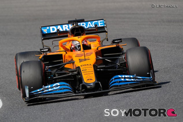 McLaren probó un morro estrecho, al estilo Mercedes, hoy en Mugello - SoyMotor.com