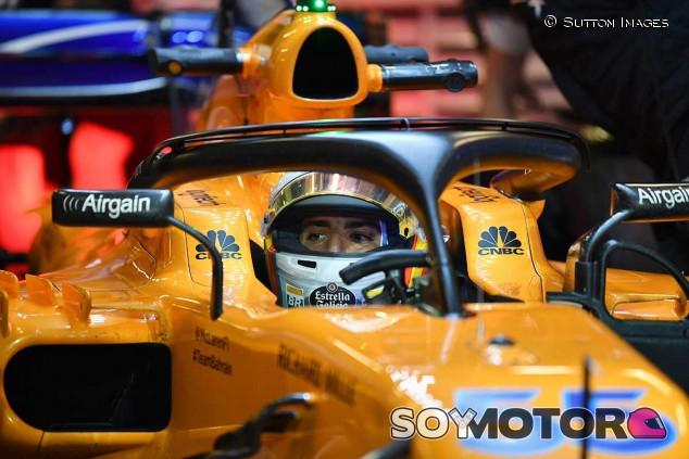 Carlos Sainz en los test de Abu Dabi - SoyMotor