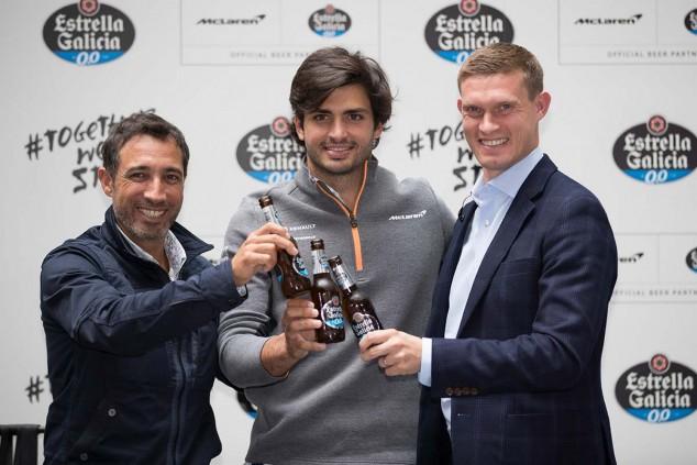 Carlos Sainz en el evento de Estrella Galicia 0,0 - SoyMotor.com