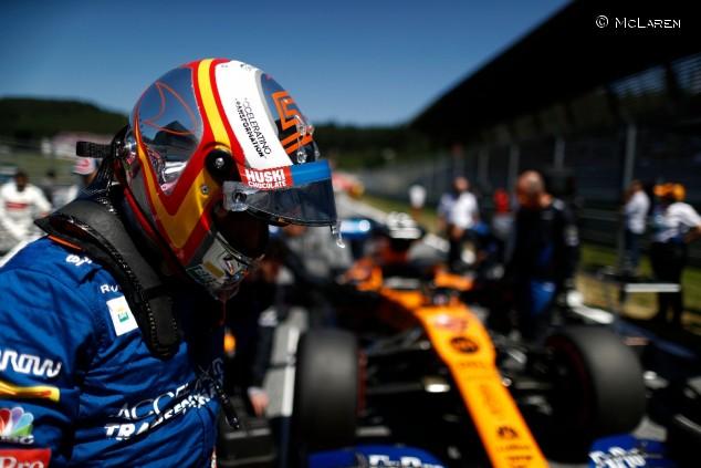 Carlos Sainz en el GP de Austria F1 2019 - SoyMotor