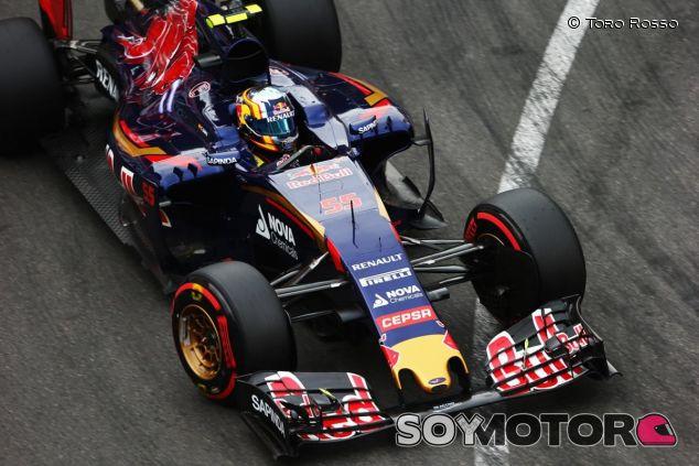 Carlos Sainz con el STR10 en Mónaco - LaF1