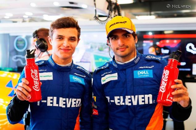 Lando Norris y Carlos Sainz en Australia - SoyMotor