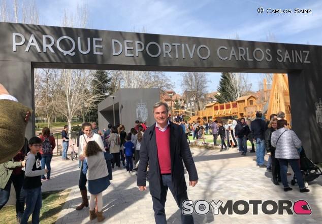 Inaugurado el parque deportivo Carlos Sainz en Pozuelo de Alarcón - SoyMotor.com
