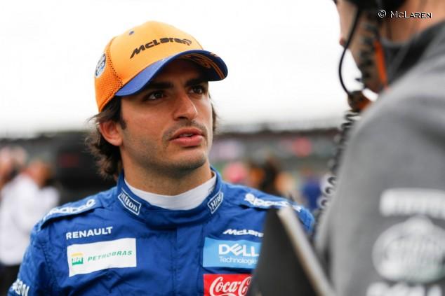 Carlos Sainz en el GP de Gran Bretaña F1 2019 - SoyMotor