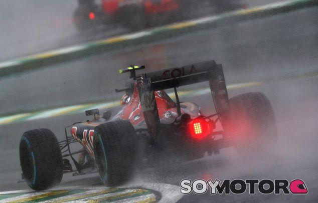 Carlos Sainz en el pasado GP de Brasil - LaF1