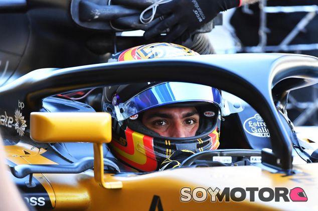 Carlos Sainz, hoy en Abu Dabi - SoyMotor
