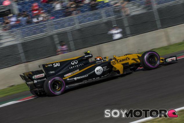 Sainz durante el GP de México - SoyMotor.com