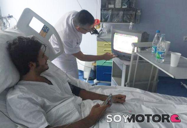 Carlos Sainz en el hospital - LaF1