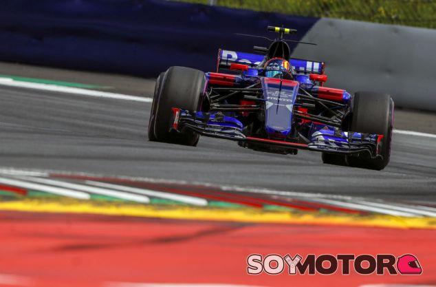 Toro Rosso en el GP de Austria F1 2017: Sábado