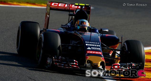 Carlos Sainz en Spa-Francorchamps - LaF1