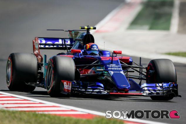 Sainz, durante el Gran Premio de Hungría - SoyMotor.com