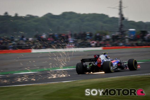 Toro Rosso en el GP de Gran Bretaña F1 2017: Sábado - SoyMotor.com