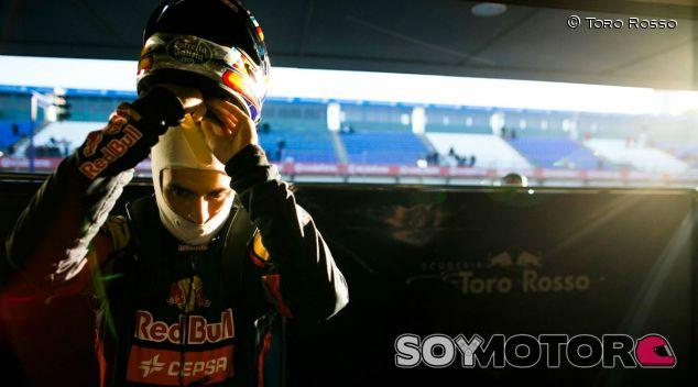 Carlos Sainz, ayer en Jerez - LaF1