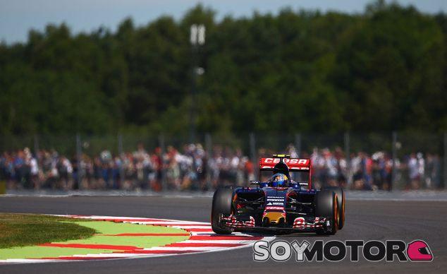 Carlos Sainz, hoy en Silverstone - LaF1