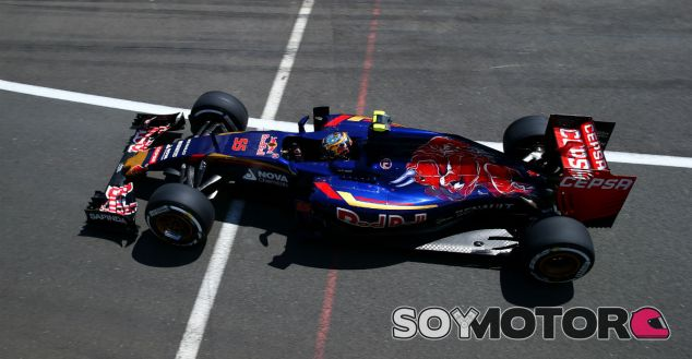 Carlos Sainz en el pasado Gran Premio de Gran Bretaña - LaF1