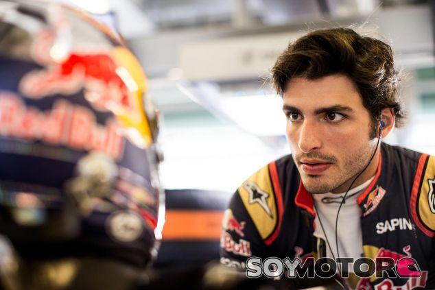 Carlos Sainz, hoy en Abu Dabi - LaF1